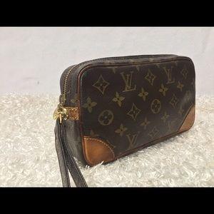 Louis Vuitton Marly Dragonne Clutch 🌟